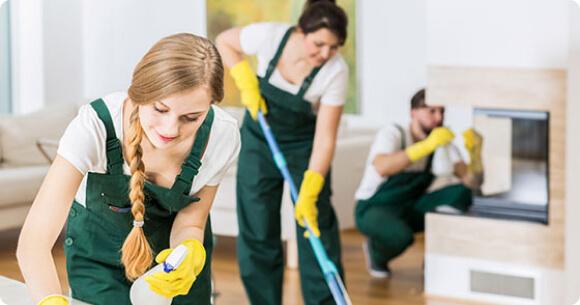 Equipe de nettoyage