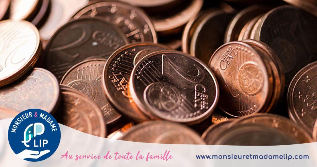 Pieces de monnaie
